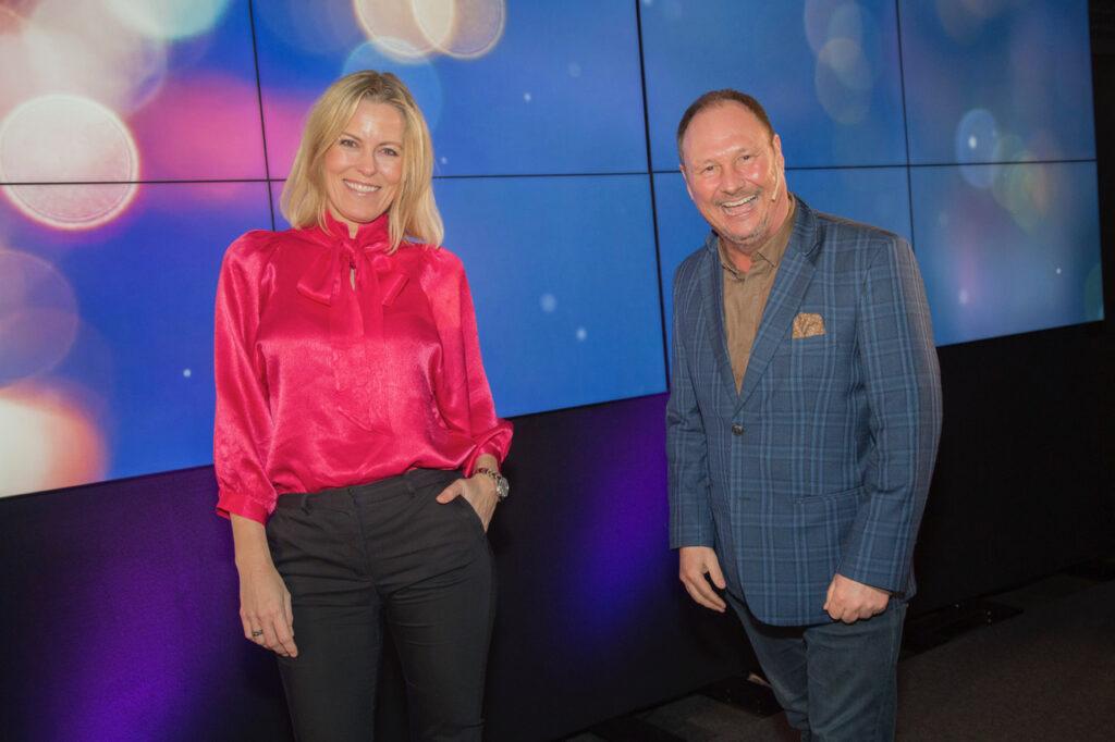 Pia Trydal i Chilli Media og Kim Nygaard i Metro Branding som programverter på Content Marketing-dagen 2021